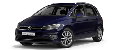 Volkswagen Golf SV Atlantic Blue