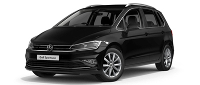 Volkswagen Golf SV Deep Black