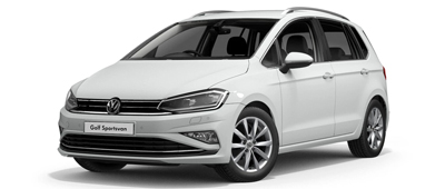 Volkswagen Golf SV Pure White