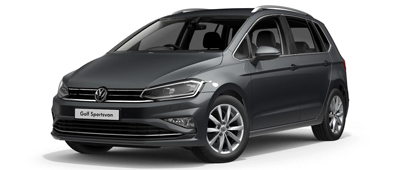 Volkswagen Golf SV Indium Grey
