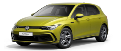 Volkswagen Golf Lime Yellow