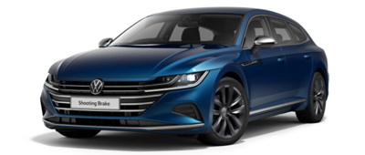 Volkswagen Arteon Shooting Brake Kingfisher Blue