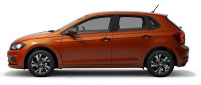 Volkswagen Polo Energetic Orange Metallic
