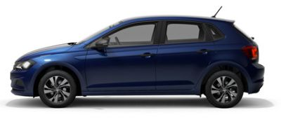 Volkswagen Polo Reef Blue Metallic
